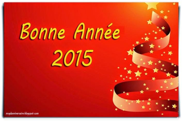 Des Cartes Bonne Année 2015